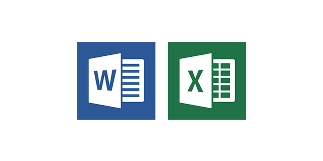 Microsoft「Word」「Excel」